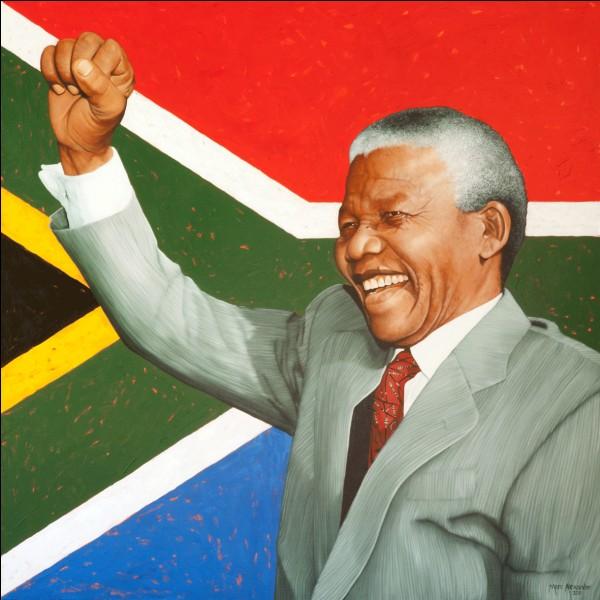 En quelle année Nelson Mandela devient-il président de l'Afrique du Sud ?