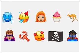"""Y a-t-il un Emoji """"glace"""" sur cette image ?"""