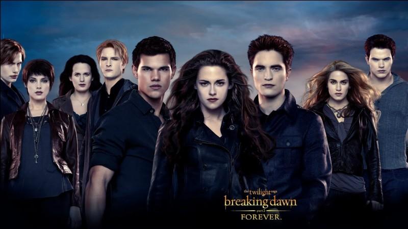 Sélectionne les personnages de ''Twilight''.