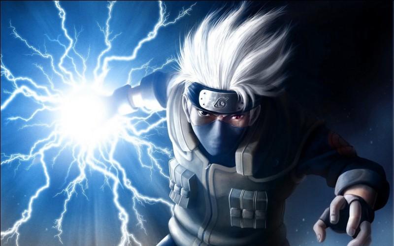Quel est le deuxième nom de l'attaque ''éclair pourfendeur'' de Kakashi ?
