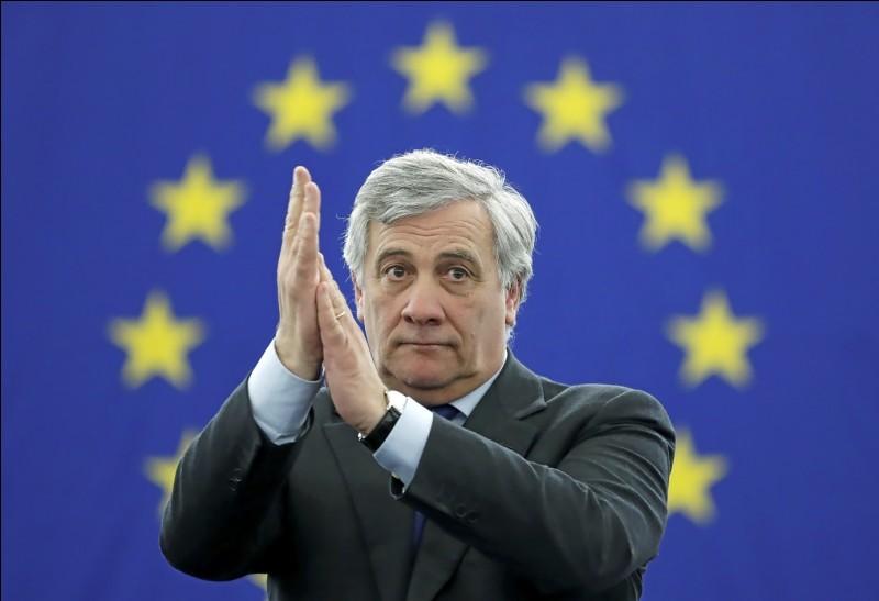 Qui est devenu président du Parlement européen le 17 janvier ?