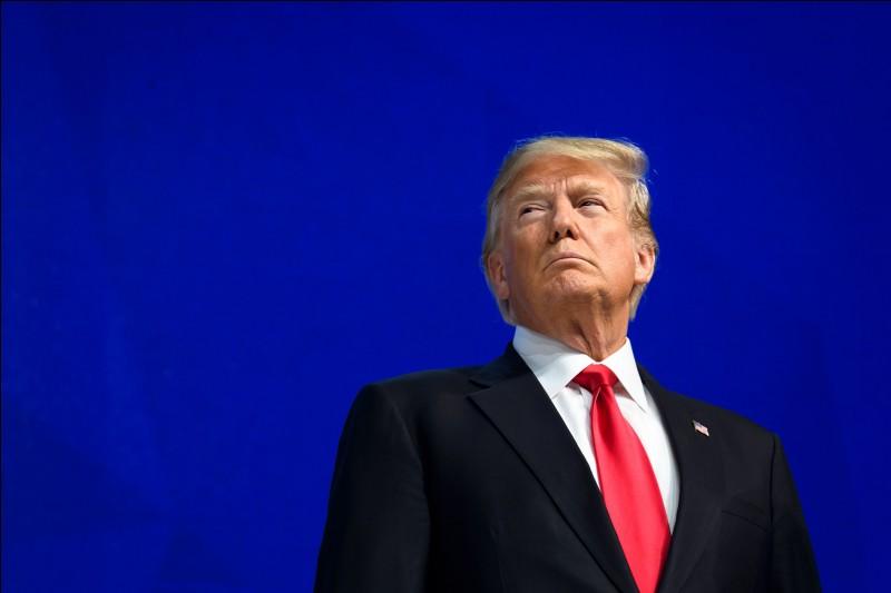 Il est devenu le 45e président des États-Unis.