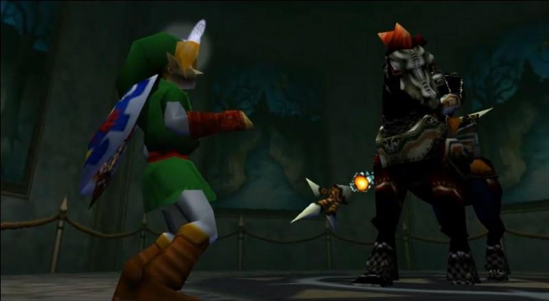 Comment s'appelle le premier temple que Link doit parcourir quand il est adulte ?