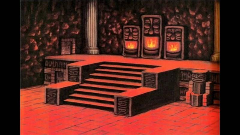 Comment s'appelle le boss du deuxième temple ?