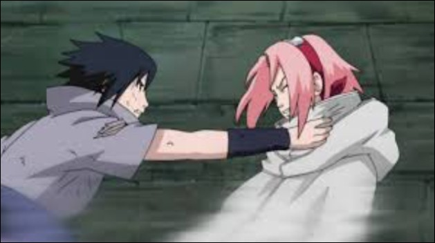 Après sa confrontation face à Danzō, combien de fois Sasuke a-t-il failli tuer Sakura ?
