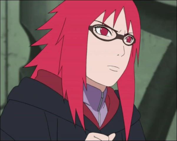 Dans quel repaire d'Orochimaru se trouvait Karin avant que Sasuke ne vienne la chercher ?
