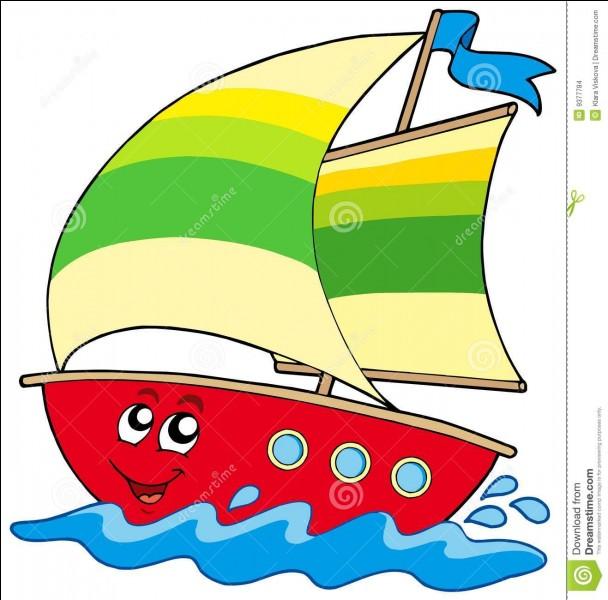 Sur un bateau, comment appelle-t-on la petite voile triangulaire placée à l'avant ?