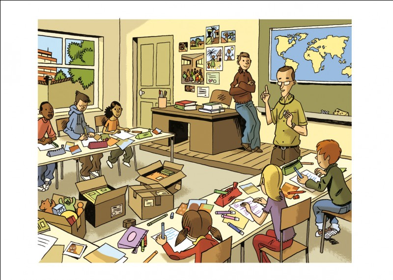 Qu'est-ce que le professeur des écoles n'apprend pas aux élèves ?