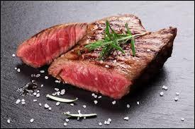 Aimes-tu la viande rouge ou la viande en général ?
