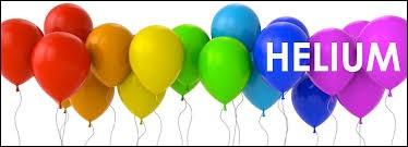 Le symbole de l'hélium est He.