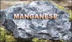 Le symbole du manganèse est Mg.