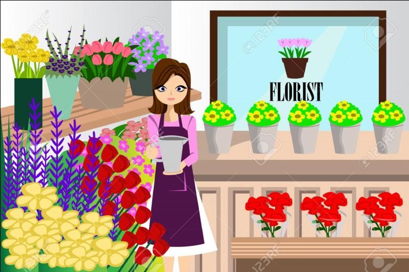 """Comment les Anglais traduisent-ils """"fleuriste"""" ?"""