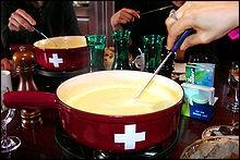 Ustensile utile pour la fondue.