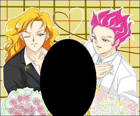 Dans un des épisodes les plus drôles, ces deux personnages se disputent le coeur de quelle sailor ?