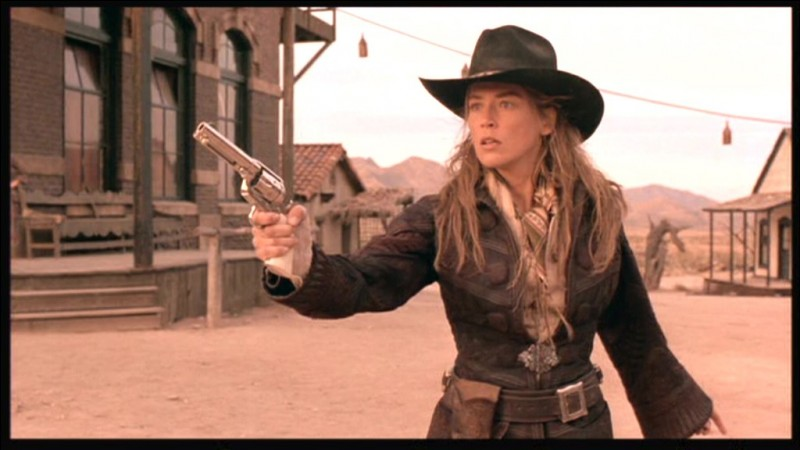 Quel est ce film, réalisé par Sam Raimi en 1995, avec Sharon Stone, Gene Hackman, Russell Crowe et Leonardo DiCaprio ?