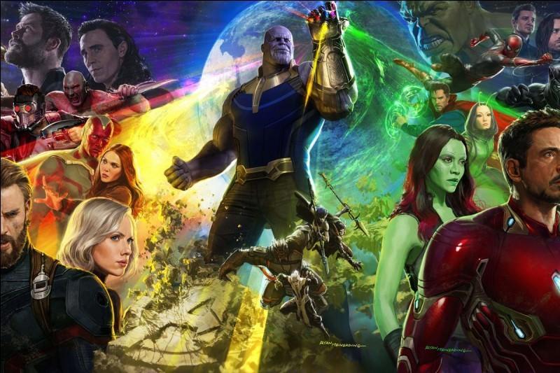 Quel personnage de ''Avengers Infinity War'' es-tu ?
