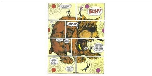 Dans quelle bande dessinée rencontre-t-on Simbabbad de Batbad ?