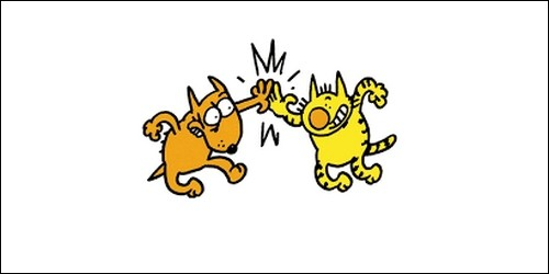 """Dans """"Maurice et Patapon"""", lequel des deux est le chien ?"""