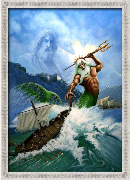 Dans la mythologie, Neptune est un dieu romain. Quel est son équivalent grec ?