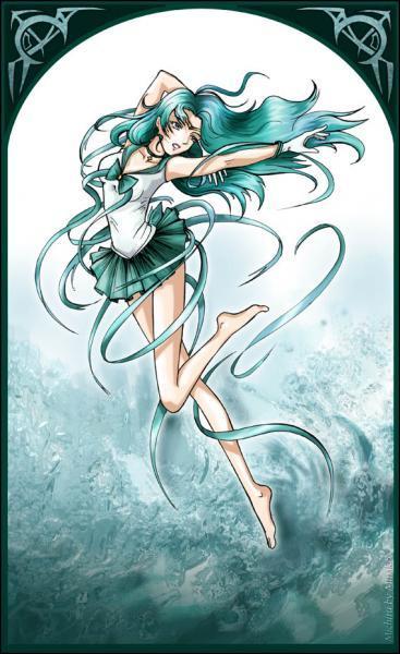 Quel élément contrôle Sailor Neptune ?
