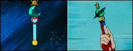 Comme les autres Sailors, Neptune dispose d'un stylo de transformation pour se métamorphoser. Combien en a-t-elle eu dans toute la série ?