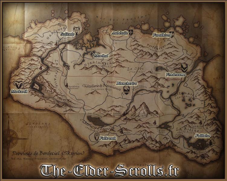 Comment s'appelle le jarl de Faillaise dans The Elder Scroll V : Skyrim ?