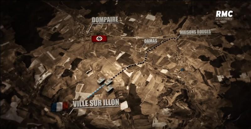 Depuis le début de la bataille, où se trouve le poste de commandement des Alliés ?