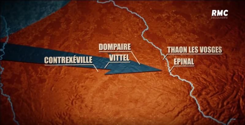 Où s'est située la bataille de Dompaire ?