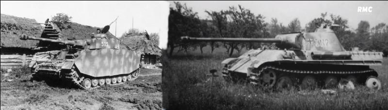 Quels ont été les deux chars principaux de l'Axe pendant cette bataille ?