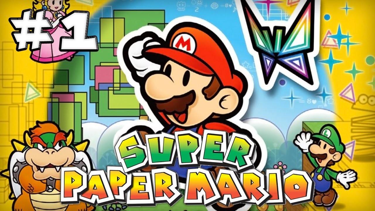 Les Pixels de Super Paper Mario