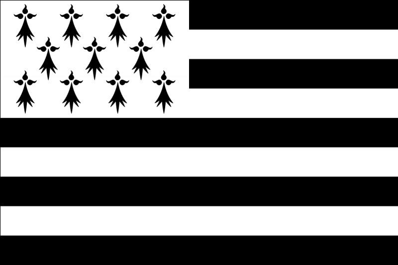 Ce drapeau est le principal symbole de la Bretagne. Quel est son nom en breton ?