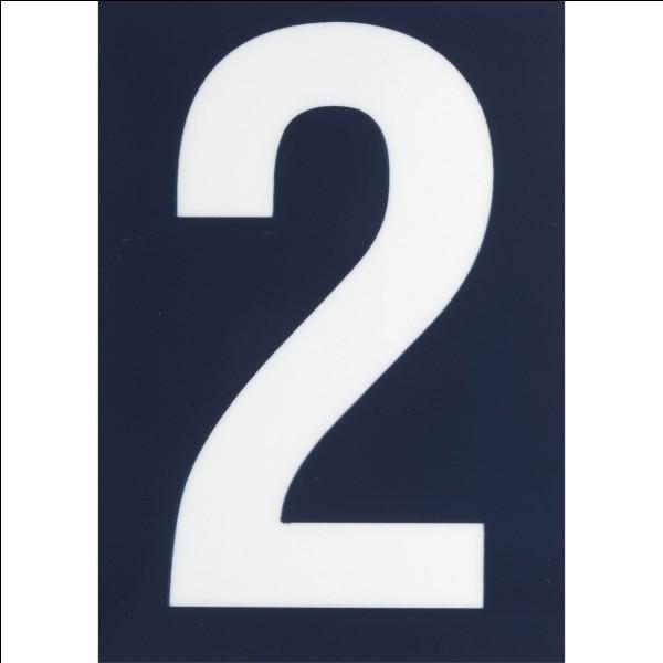 3a + 7 = 13. L'inconnue est...