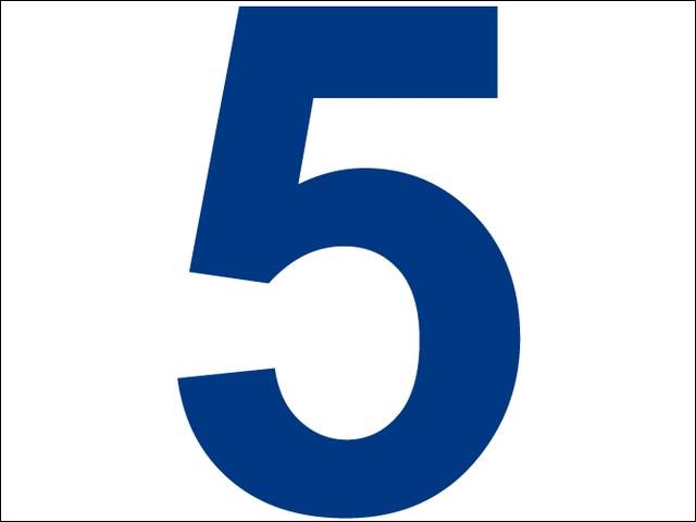 Que signifie la formule 5 au carré ?