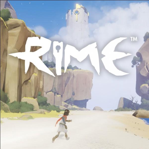 """Dans """"Rime"""", l'animal qui accompagne le joueur est..."""