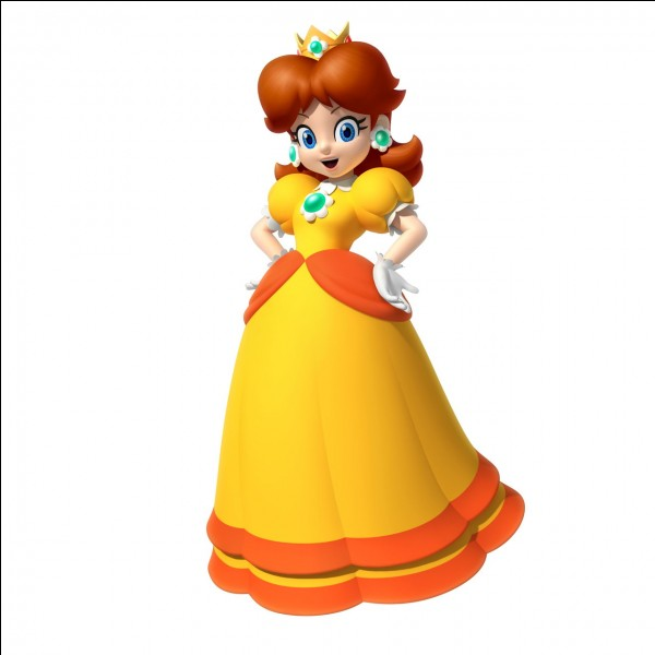 "La princesse orange de ""Nintendo"" s'appelle..."