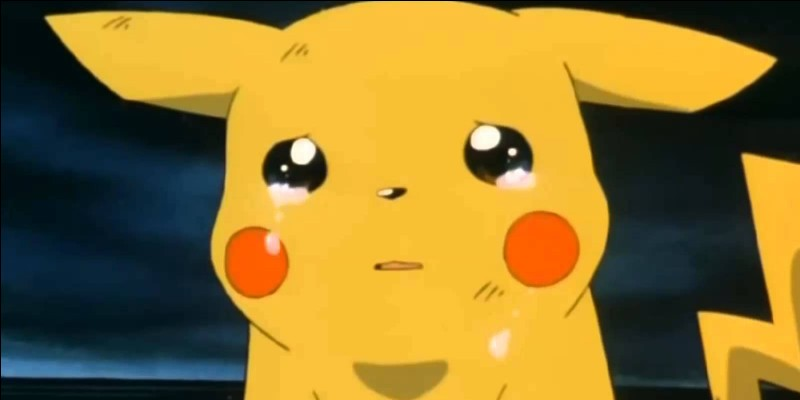Sacha a déjà pensé à relâcher Pikachu :
