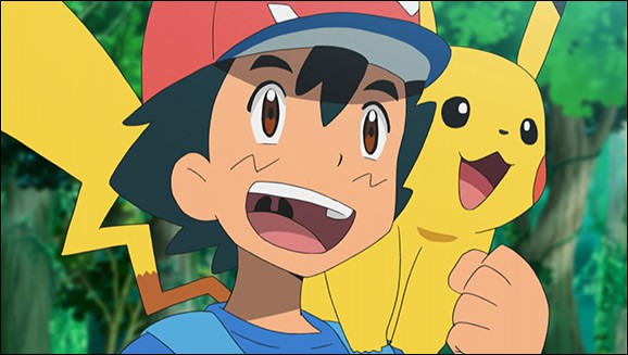 Dans la saison 20, Sacha va à l'école Pokémon :