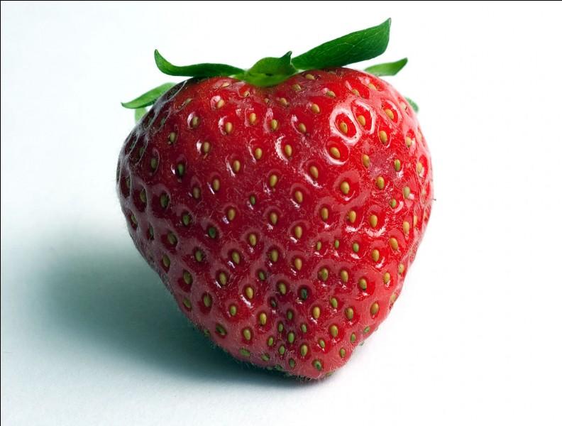 """Quelle est la traduction du mot """"fraise"""" ?"""