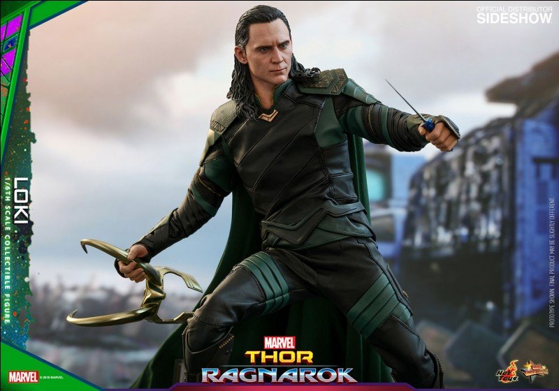 Thor paralyse Loki avec l'implant.
