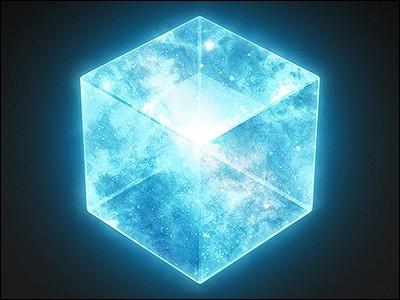 Le Tesseract se trouve dans la chambre forte.