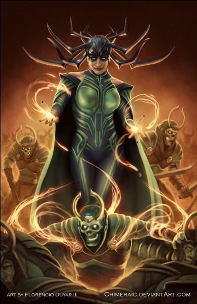Comment s'appelle la sœur secrète de Thor et Loki ?