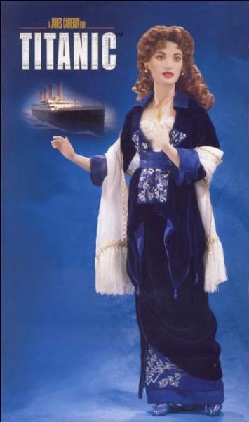 Le titre du film et son réalisateur figure sur l'illustration présentant la poupée dans le costume du film, film romantique à grand spectacle. Quelle est l'actrice représentée ?