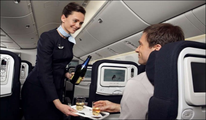 En tant que steward ou hôtesse de l'air, de quelle classe ne vous occuperez-vous pas ?