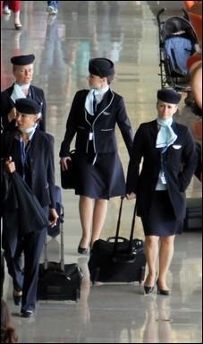 Après un an d'exercice, quel salaire pouvez-vous espérer gagner en tant qu'hôtesse de l'air ou que steward ? (net)