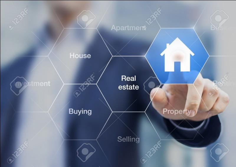 Première question assez simple : quel est le but d'un agent immobilier ?
