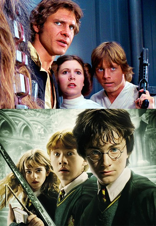 Harry Potter ou Star Wars ?