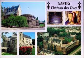 Nous commençons à Nantes (Loire-Atlantique), ville où les habitants se nomment ...