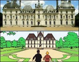 Quel château de la Loire a inspiré Hergé pour créer le château de Moulinsart ?