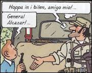 Quelle est la pays du Général Alacazar ?