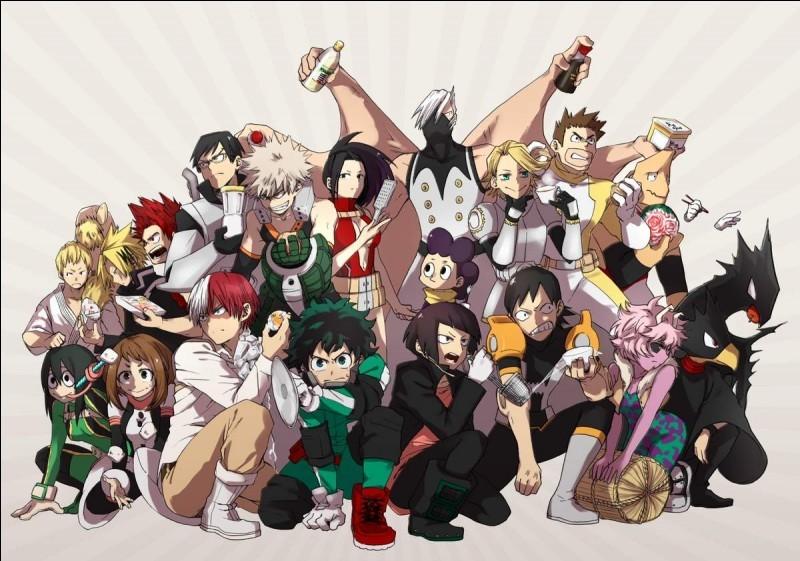 Quel personnage de ''My Hero Academia'' es-tu ?